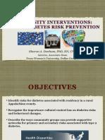 OU Conference Diabetes Communities SDenham_5.07.2019