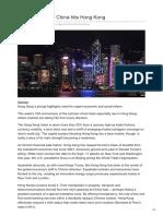 Trumps Siege of China Hits Hong Kong