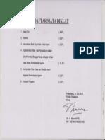 Daftar Mata Diklat Etos Kerja 2012 001