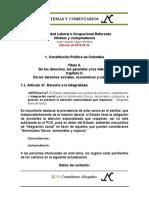 Estabilidad Laboral Reforzada 1.5. Constitucion Art. 47