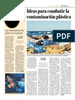 Ideas Para Combatir La Contaminación Plástica