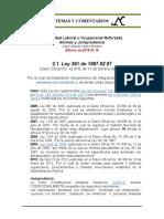 Estabilidad Laboral Reforzada 2.1. Ley 361 de 1997 02 07