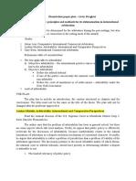 dissertation plan