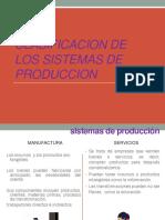 Clasificación Sistemas Productivos II Parte