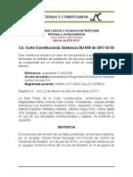 Estabilidad Laboral Reforzada 5.6. SU-049 de 2017 02 02