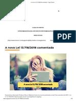 A Nova Lei 13.718_2018 Comentada _ Saga Policial
