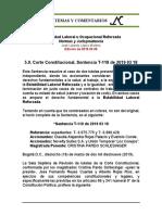 Estabilidad Laboral Reforzada 5.9. 2019 03 18 T-118