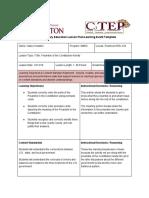 copy of field lesson