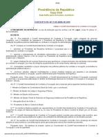 D9755-19 - Institui o Comitê Interministerial de Combate à Corrupção.