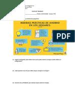 Guía de Trabajo Ahorro Energetico