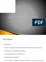 Zero Defect Concept Production