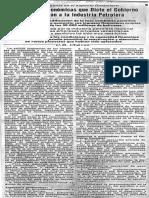 Medidas Economicas Que Dicte El Gobierno Beneficiaran Industria Petrolera - El Universal Febrero (1984)