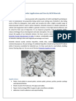 Dolomite Powder Application and Uses by RCM Mineral1