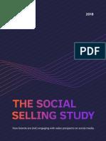 Social Selling Report 2018