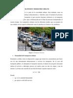 Transporte Terrestre Urbano