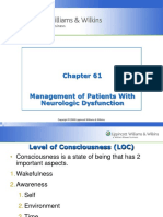 61. Management of Patients With Neurologic Dysfunction