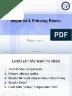 Technoprenuership 4 Inspirasi & Peluang Bisnis