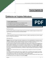 Tricalc Teoría 9  Definición de Forjados Reticulares