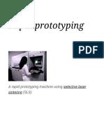Rapid Prototyping - Wikipedia