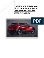 La Mezcla Perfecta Entre Cx 5 y Mazda 3
