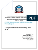 Microprocessors Project