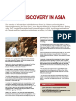 Fossil Discovery in Asia