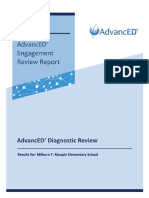 2018-19 Milburn T Maupin Elementary Diagnostic Review