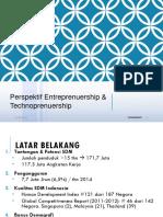 Technoprenuership 1 Perspektif Technopreneuership