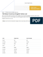 100 Most Common English Verbs List (page 2) - Linguasorb.pdf