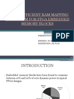 Power Efficient Ram Mapping Algorithm for Fpga Embedded