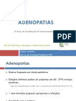 Adenopatias - Mónica Jerónimo
