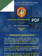 CLASE MODELO CALIDAD DE LOS MODELOS DE DATOS.ppt