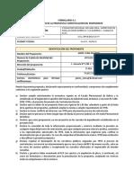 DCD Consultoria Individual de Línea Sup de Inst Int y Acometidas