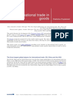 International Trade in Goods