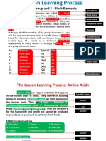 1A Group and Amino Acids Lesson Planning