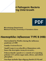 GDS- 1 - K10 - Important Pathogenic Bacteria During Child Growth