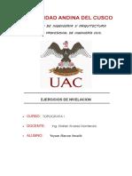 Ejercicios de Nivelacion Topografia I.docx