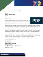 Propuesta Comercial Agencia Creativa Mariel