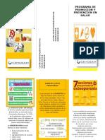 Folleto_ Promocion y Prevencion