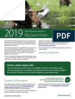 2019 Big Game Draw Supplement
