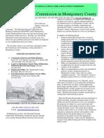 MNCPPC-MC Community Based Planning Division Org Chart