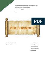 Estudio de 2da de corintios
