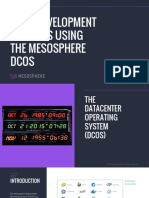 Mesosphere eBook Agile Development and PaaS Using DCOS