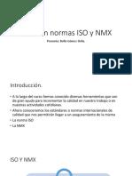 Relación Normas ISO y NMX