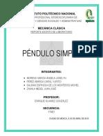 Practica #6 Pendulo Simple (Final)