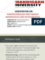 Presentation on Nanotechnology and Various Nanodevices Used in Diagnostics