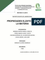 Practica #4 Propiedades Elásticas de la Materia