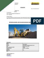 Retroexcavadora b95b- Brazo Extensible - Constructora Delgado