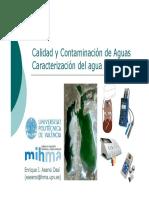 Caracterizacio de las Aguas residuales