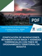 Zonificación de inundaciones, movimientos en masa y avenidas torrenciales con fines de ordenamiento territorial en Bogotá.pdf